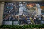 """Detroit/MI: Art Institute - Diego Rivera """"Detroit at Work"""" murals (opposing walls)"""